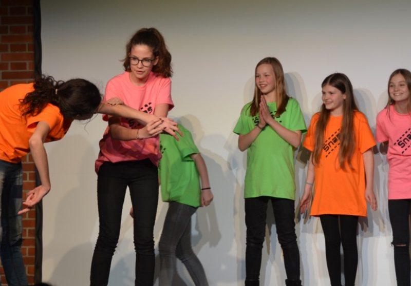 TATwort Improvisationstheater/Gymnasium Fürstenried 2016, Foto: Ilona Herrmann