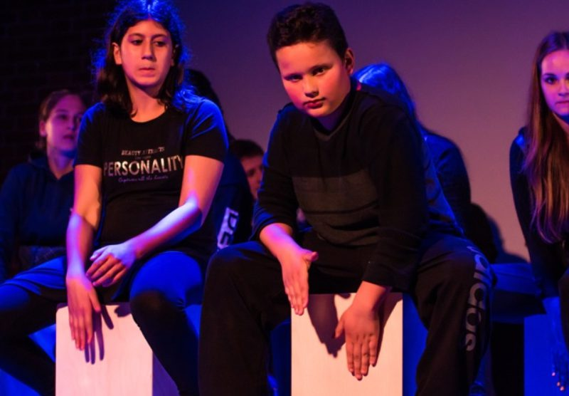 Junges Staatstheater am Gärtnerplatz/Mittelschule Walliser Str. 2016, Foto: Raphaela van Bommel