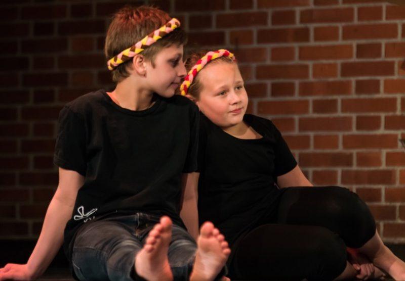 Junges Staatstheater am Gärtnerplatz/Grundschule Blumenau 2016, Foto: Ilona Herrmann