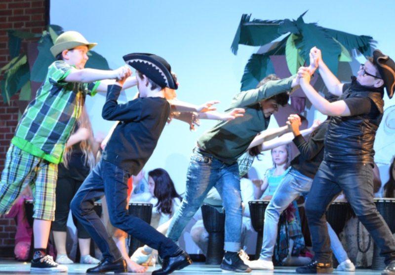 Junges Staatstheater am Gärtnerplatz/ Grundschule an der Blumenau, Foto: Ilona Herrmann