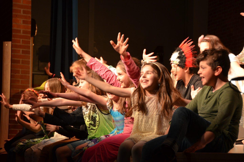 Junges Staatstheater am Gärtnerplatz, Grundschule an der Blumenau 2016, Foto: Ilona Herrmann