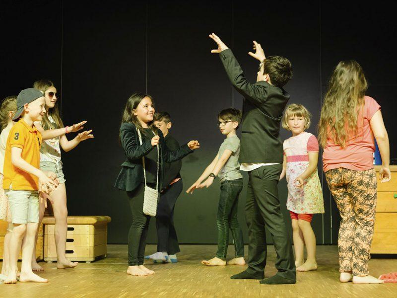 Junges Staatstheater am Gärtnerplatz/Grundschule an der Stuntzstr. 2018, Foto: Severin Vogl