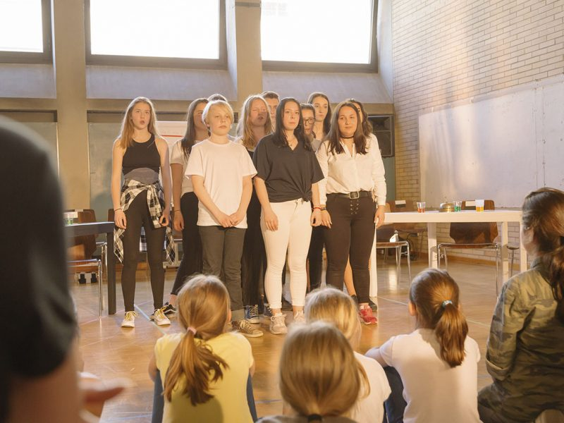 Residenztheater/JUNGES RESI/Fridtjof-Nansen-Realschule 2018, Foto: Severin Vogl