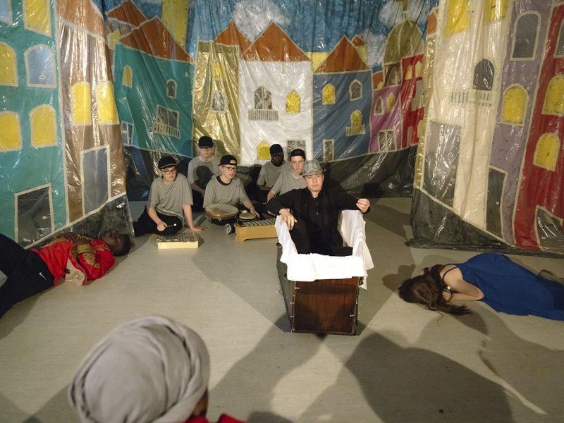 Münchner Kammerspiele/Ludwig-Thoma-Realschule 2018, Foto: Severin Vogl