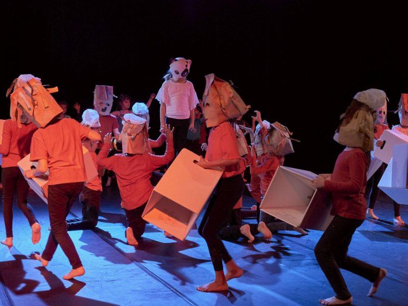 Junges Staatstheater am Gärtnerplatz/Grundschule an der Stuntzstr 2019, Foto: Severin Vogl