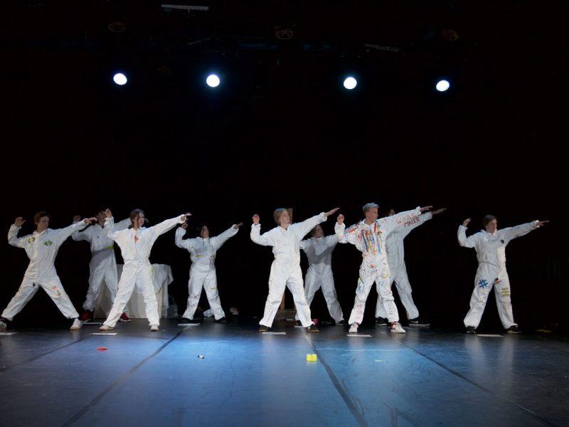 Residenztheater/JUNGES RESI/Fridtjof-Nansen-Realschule 2019, Foto: Christian POGO Zach