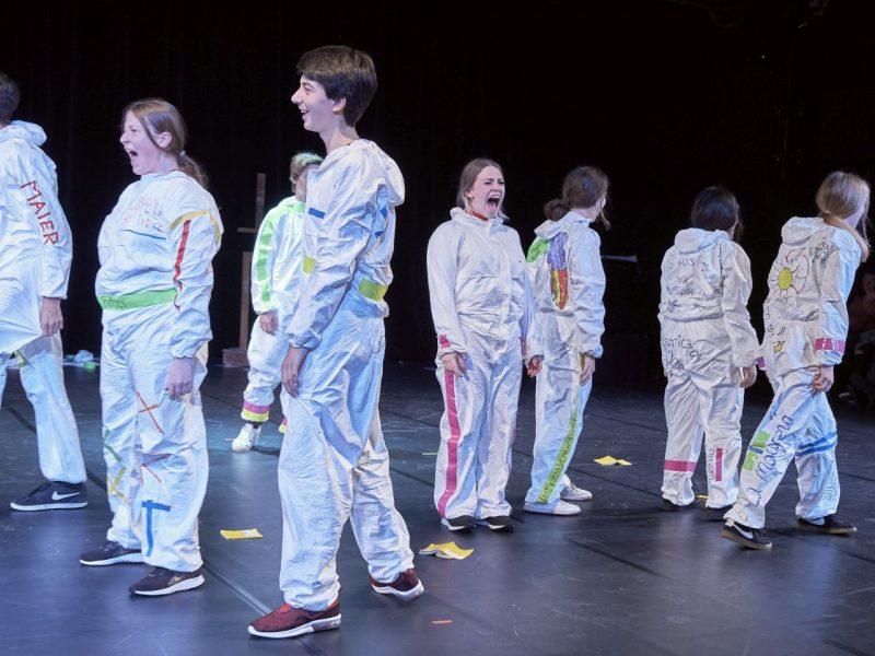 Residenztheater/JUNGES RESI/Fridtjof-Nansen-Realschule 2019, Foto: Severin Vogl