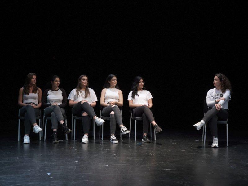 TATwort Improvisationstheater/Rainer-Werner-Fassbinder FOS 2019, Foto: Severin Vogl