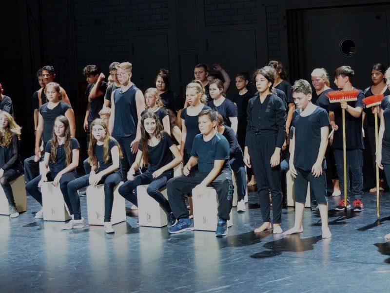 Gärtnerplatztheater/Mittelschule Walliser Straße/ Tuschteam 2017