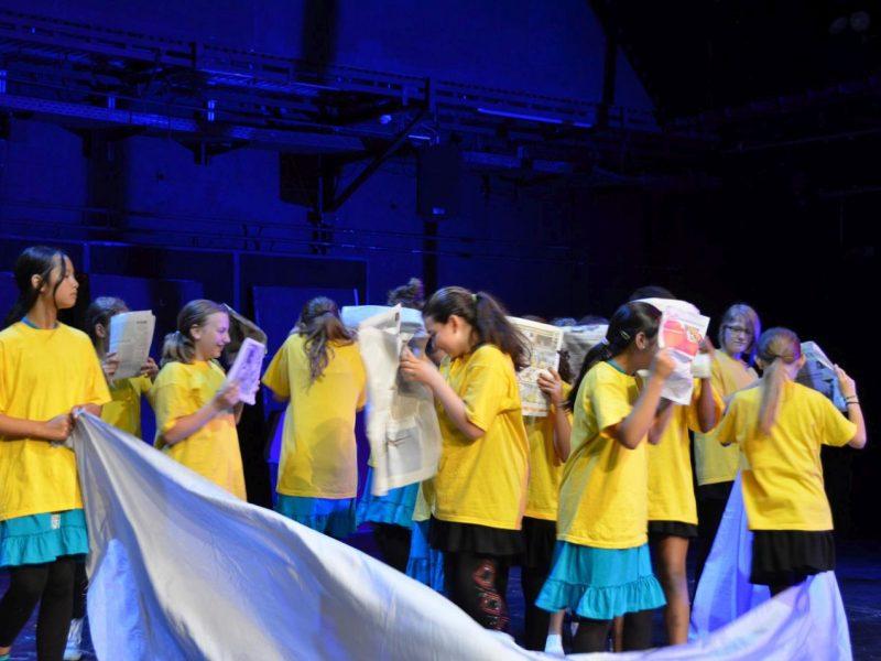 Gärtnerplatztheater/Städtische Rudolf-Diesel-Realschule/ Tuschteam 2013
