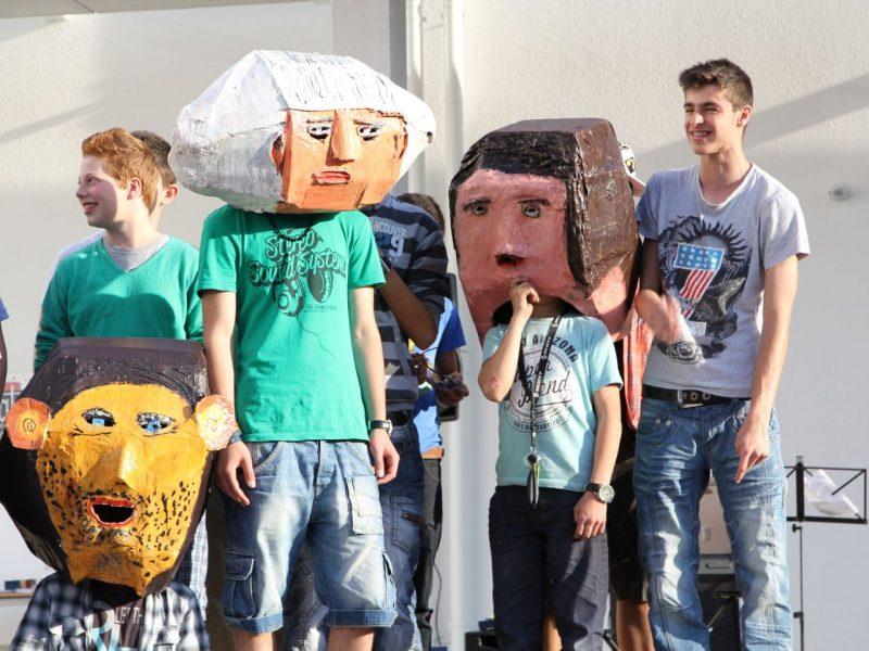 Münchner Kammerspiele/Mittelschule Elisabeth-Kohn-Straße/ Walter Neumann 2012