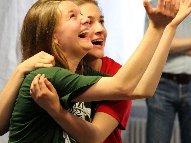 TATwort Improvisationstheater/Staatliches Dante Gymnasium/ Suse Fritzenschaft 2014