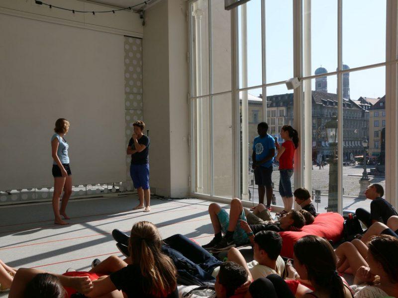 TATwort Improvisationstheater/Staatliches Dante-Gymnasium/ Annette Völker-Rasor 2015